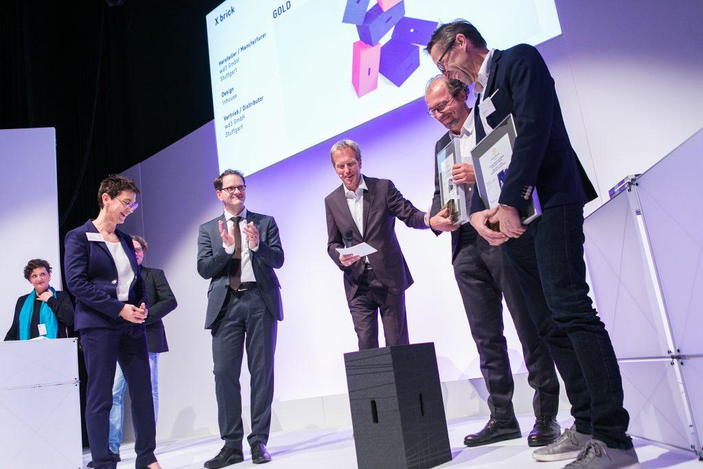 Auszeichnung des Xbrick auf der Focus Open