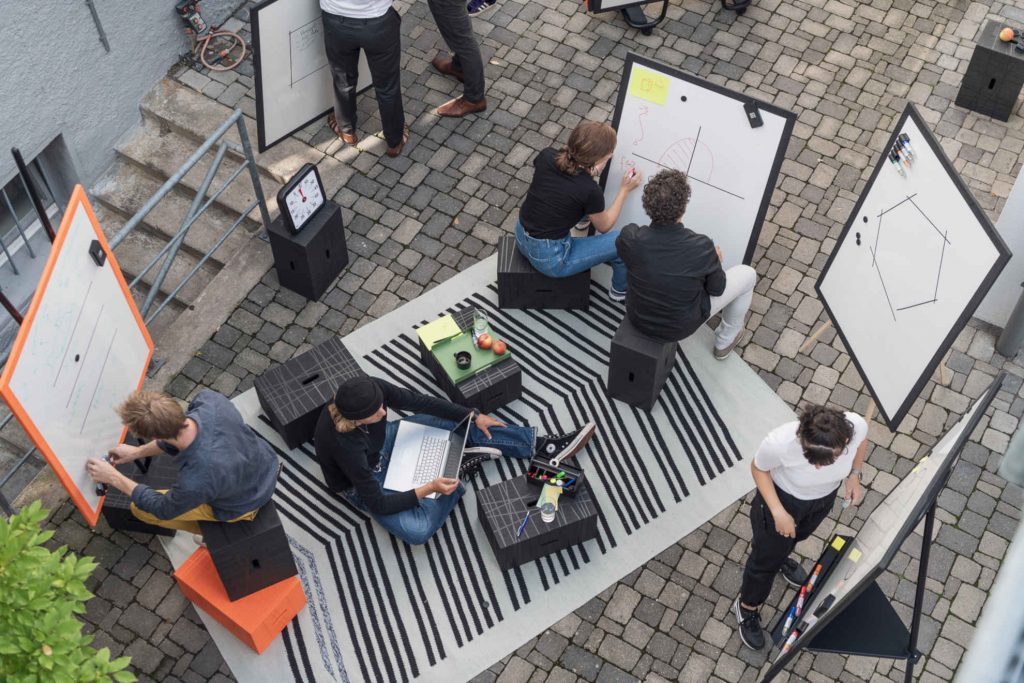 design-thinking-session-with-xbrick-outside
