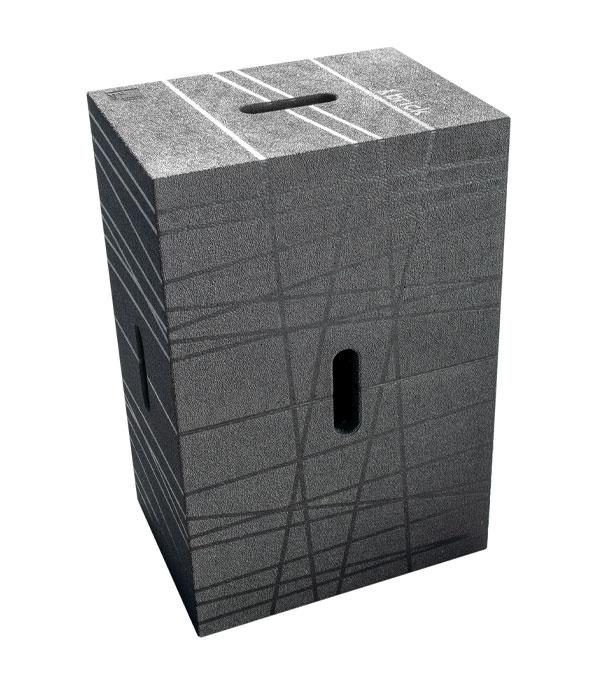 Xbrick Sitzwürfel schwarz