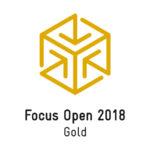Gold Award auf der Focus Open 2018