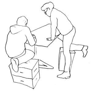 Das Multitool für Daheim - ergonomische Sitzmöbel von Xbrick