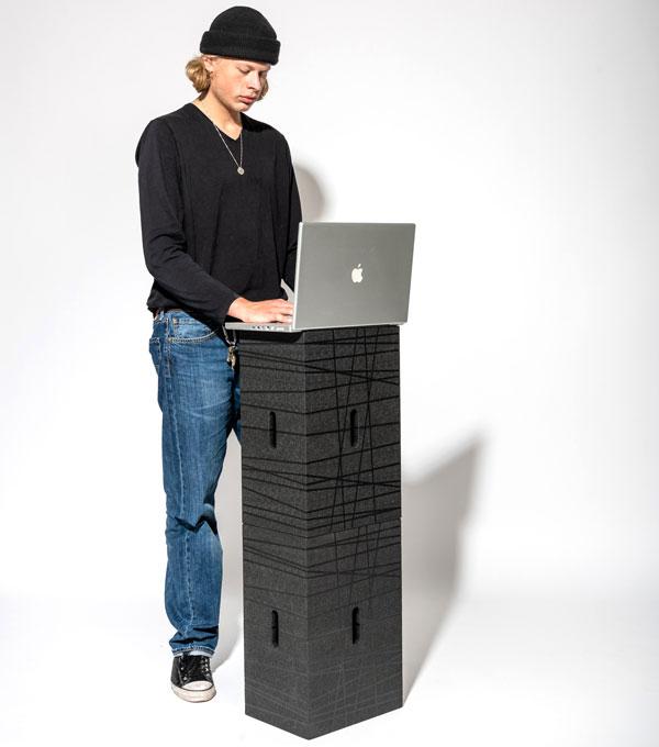 Das Xbrick Starter-Set für deinen mobilen und agilen Arbeitsplatz