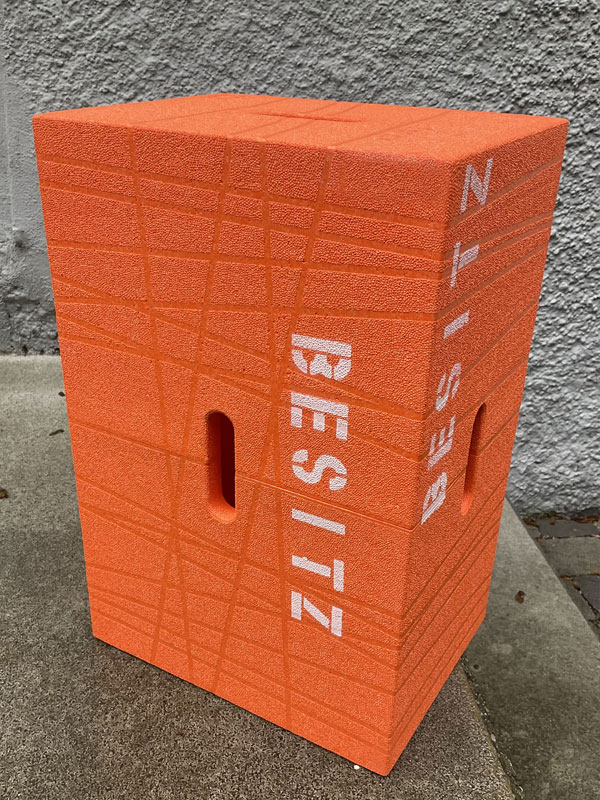 """Xbrick Sonderedition """"besitz mich"""" in orange"""