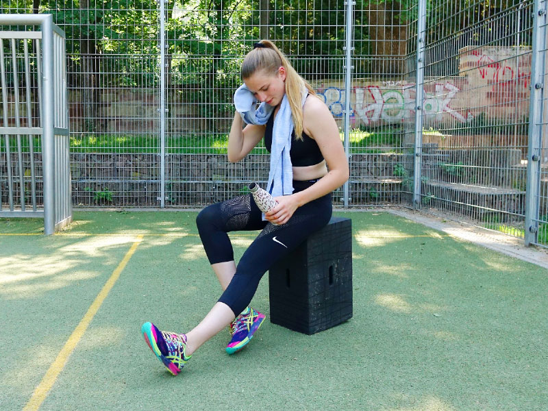 Fitnesstraining mit dem Xbrick