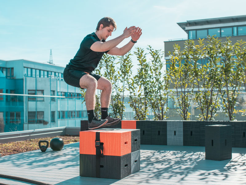 Crossfit Workout mit dem Xbrick
